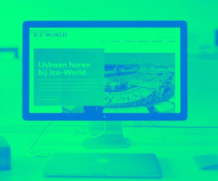 Ice-World International, de marktleider in de verhuur van ijsbanen in de wereld, vroeg ons eind 2017 of wij wilde meedenken met de herpositionering van Ice World online. 5 maanden zijn wij samen met Ice-World strategisch in de weer geweest om zo tot een verfrissend, doch vertrouwd design te komen voor de nieuwe website.